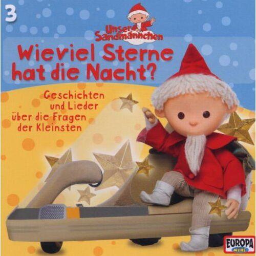 Unser Sandmännchen - 3/Wieviel Sterne Hat Die Nacht - Preis vom 09.05.2021 04:52:39 h