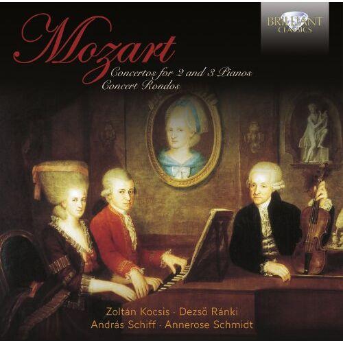 Zoltan Kocsis - Mozart: Konzerte für 2 & 3 Klaviere - Preis vom 25.05.2020 05:02:06 h