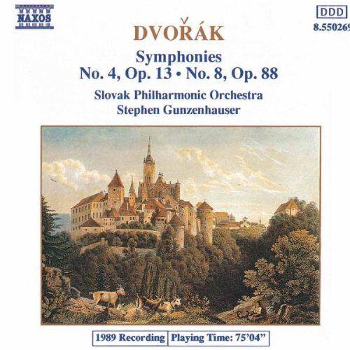 Gunzenhauser - Dvorak: Sinfonien 4 und 8 Gunzenhauser - Preis vom 09.04.2021 04:50:04 h