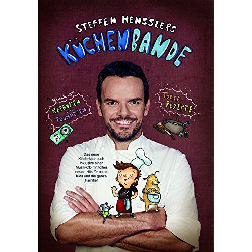Steffen Henssler - Steffen Hensslers Küchenbande (CD inkl. Buch) - Preis vom 28.02.2021 06:03:40 h