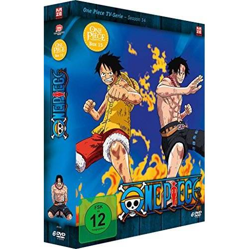Konosuke Uda - One Piece - Die TV Serie - Box Vol. 15 [6 DVDs] - Preis vom 20.10.2020 04:55:35 h
