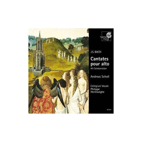 Andreas Scholl - Cantates Pour Alto, Bwv 35, 54 & 170 (Alt-Solokantaten) - Preis vom 03.09.2020 04:54:11 h