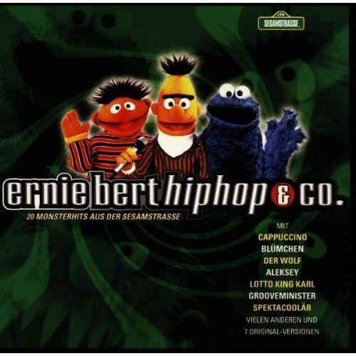 Various - Ernie, Bert, Hip Hop & Co. - 20 Monsterhits aus der Sesamstrasse - Preis vom 06.05.2021 04:54:26 h