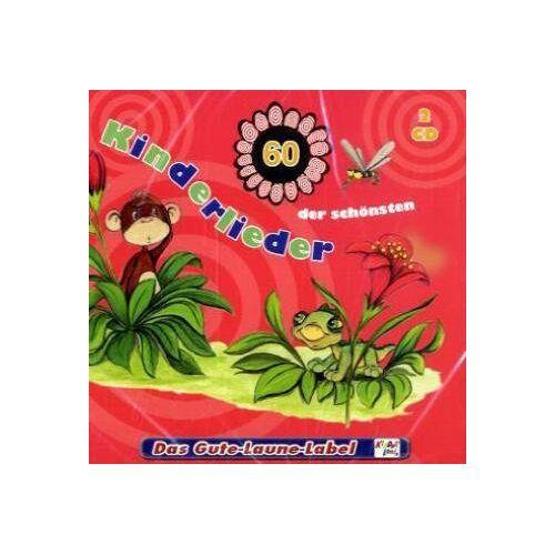 Kinderlieder - 60 der schönsten Kinderlieder - Preis vom 09.05.2021 04:52:39 h