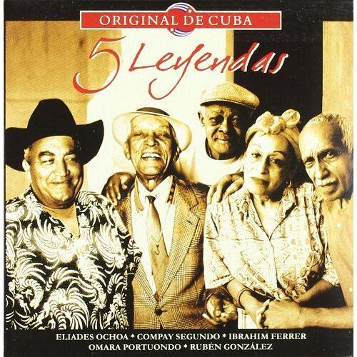 5 Leyendas - 5 Leyendas-Original de Cuba - Preis vom 05.05.2021 04:54:13 h