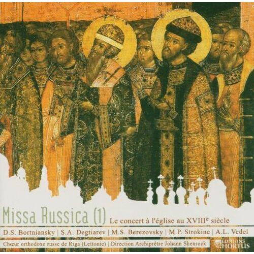 Riga Russ.Orthodoxer Chor - Missa Russica (1) 18.Jahrh. - Preis vom 14.04.2021 04:53:30 h