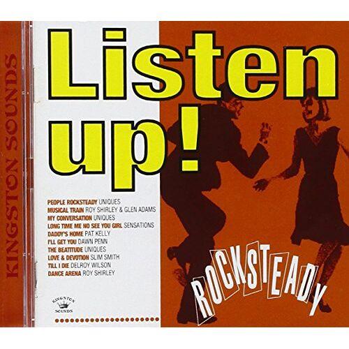 Various - Listen Up!Rocksteady - Preis vom 09.05.2021 04:52:39 h