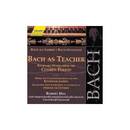 Robert Hill - Edition Bachakademie Vol. 107 (Bach als Lehrer: Werke aus den Köthener Jahren) - Preis vom 21.10.2020 04:49:09 h