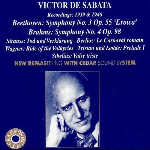 Victor de Sabata - Sabata Dirigiert Beethoven, Brahms U - Preis vom 29.07.2020 04:53:17 h
