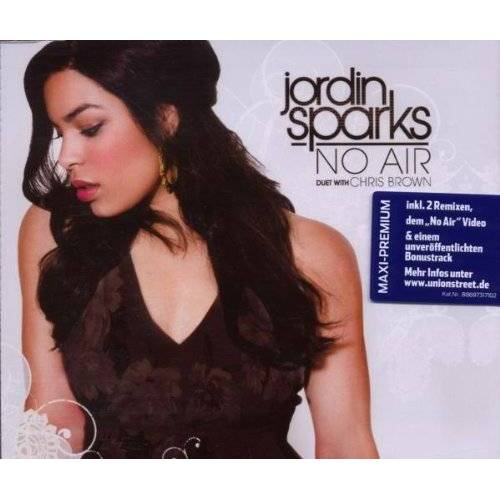 Jordin Sparks - No Air / Maxi Premium - Preis vom 11.05.2021 04:49:30 h