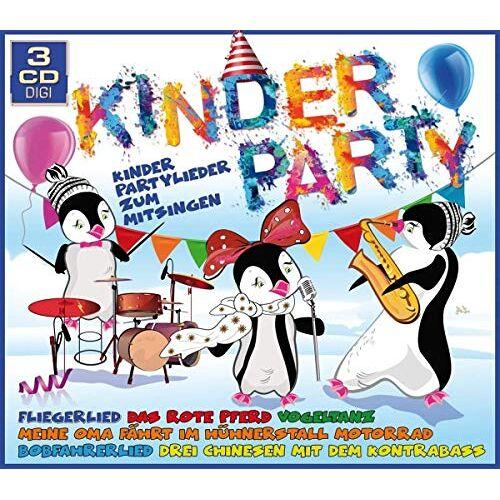 Various - Kinderparty-Kinderpartylieder Zum Mitsingen - Preis vom 18.04.2021 04:52:10 h