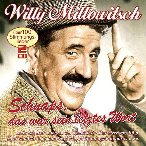 Willy Millowitsch - Schnaps,Das War Sein Letztes Wort - Preis vom 16.04.2021 04:54:32 h