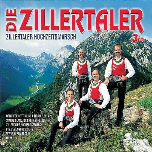 die Zillertaler - Zillertaler Hochzeitsmarsch - Preis vom 12.04.2021 04:50:28 h
