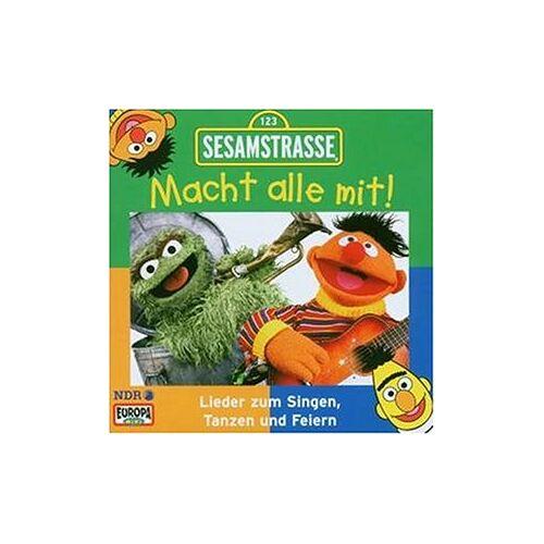 Sesamstrasse - Sesamstrasse-Macht Alle mit! [Musikkassette] - Preis vom 15.10.2020 04:56:03 h