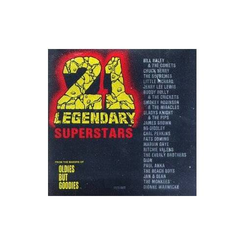 Va-Twenty-One Legendary Supers - 21 Legendary Superstars - Preis vom 06.09.2020 04:54:28 h