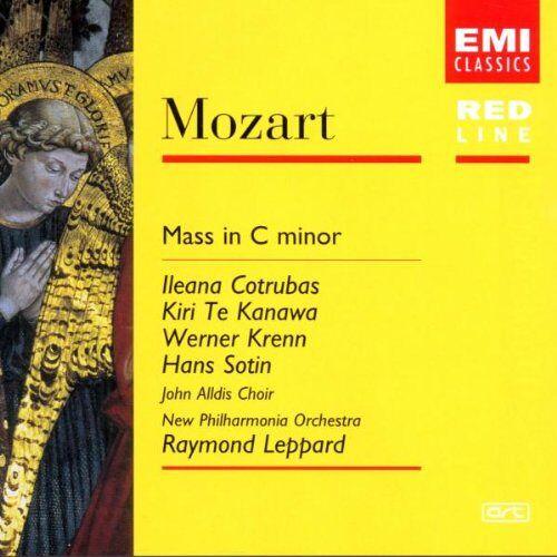 Cotrubas - Red Line - Mozart (Messe) - Preis vom 05.03.2021 05:56:49 h