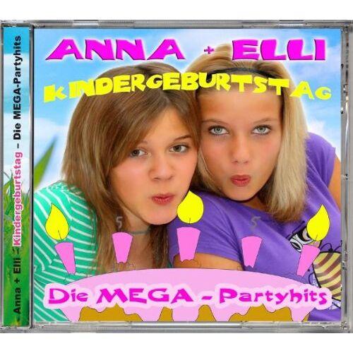 Anna + Elli - Kindergeburtstag - Die MEGA-Partyhits - Preis vom 26.02.2021 06:01:53 h