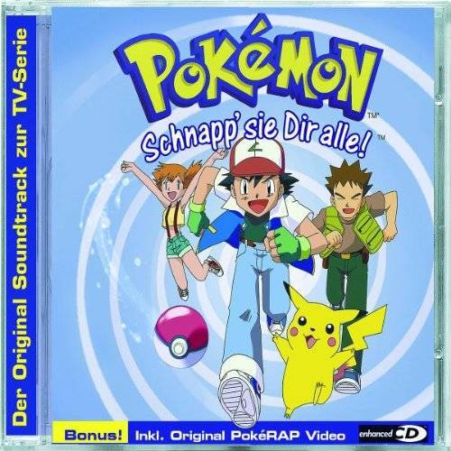 Pokémon - Pokemon, der Soundtrack zur TV-Serie - Preis vom 29.10.2020 05:58:25 h