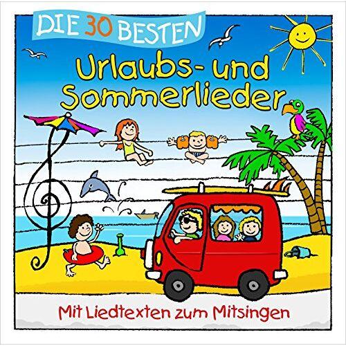Simone Sommerland - Die 30 besten Urlaubs- und Sommerlieder - Preis vom 14.01.2021 05:56:14 h