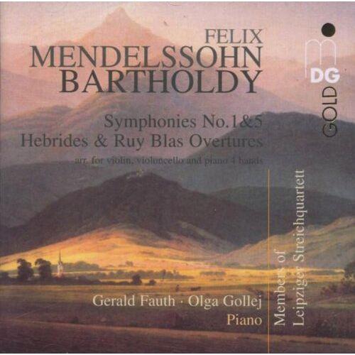 Fauth - Sinfonien 1 & 5/Ouvertüren - Preis vom 20.10.2020 04:55:35 h