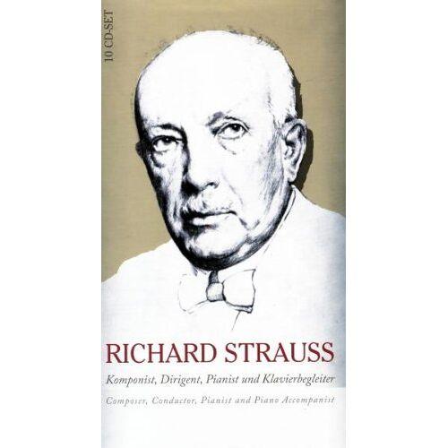 Various - Strauss:Komponist,Dirigent,Pianist&Klavierbegleite - Preis vom 21.04.2021 04:48:01 h