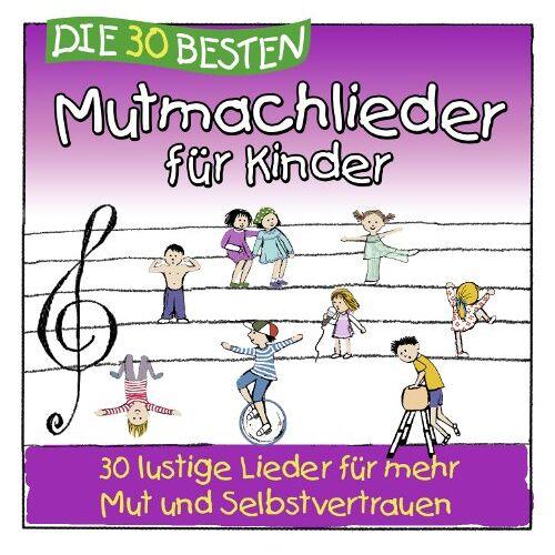 Simone Sommerland - Die 30 besten Mutmachlieder für Kinder - Preis vom 25.01.2021 05:57:21 h