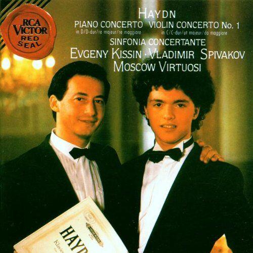 Evgeny Kissin - Piano Concerto in D / Violin Concerto No. 1 / Sinfonia Concertante - Preis vom 21.10.2020 04:49:09 h