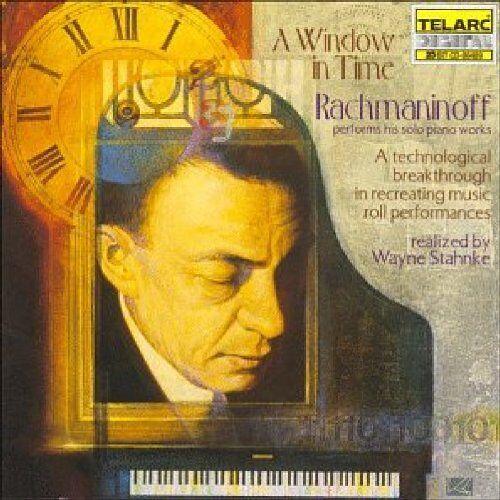 Sergej Rachmaninoff - A Window In Time Vol. 1 (Rachmaninoff spielt Rachmaninoff) - Preis vom 20.10.2020 04:55:35 h