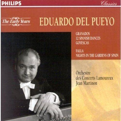Pueyo - Danzas Epanolas//Goyescas/Noch - Preis vom 16.01.2021 06:04:45 h