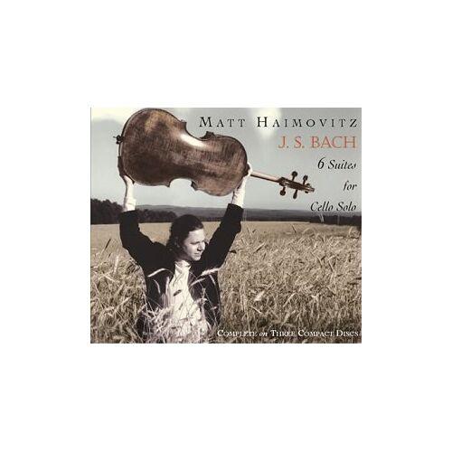 Matt Haimovitz - 6 Cellosuiten - Preis vom 06.09.2020 04:54:28 h