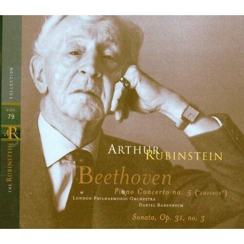 Artur Rubinstein - The Rubinstein Collection Vol. 79 (Beethoven: Klavierkonzert / Klaviersonate) - Preis vom 21.10.2020 04:49:09 h