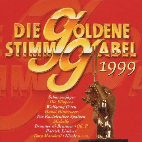 Various - Die Goldene Stimmgabel 1999 - Preis vom 11.04.2021 04:47:53 h