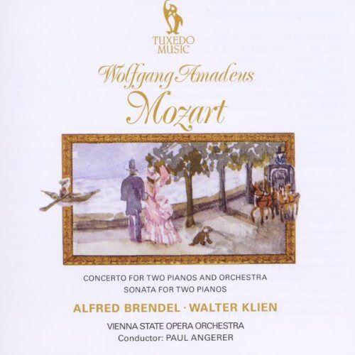 Brendel - Klavierkonzerte für 2 Klavier - Preis vom 21.10.2020 04:49:09 h