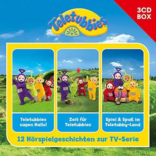 Teletubbies - Teletubbies-3-CD Hörspielbox Vol.1 - Preis vom 13.05.2021 04:51:36 h