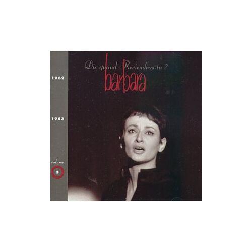 Barbara - Barbara 1962-1963 Vol.3 - Preis vom 22.04.2021 04:50:21 h