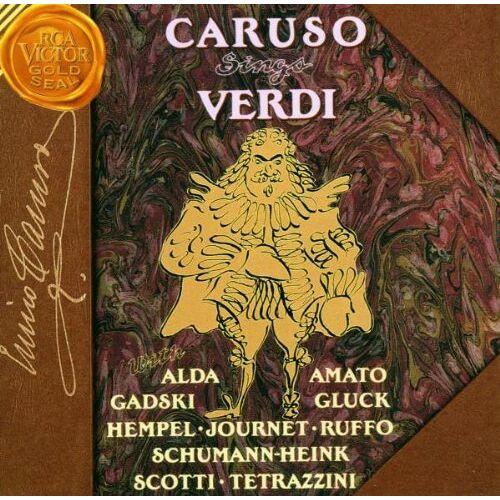 Enrico Caruso - Caruso singt Verdi-Arien - Preis vom 03.03.2021 05:50:10 h