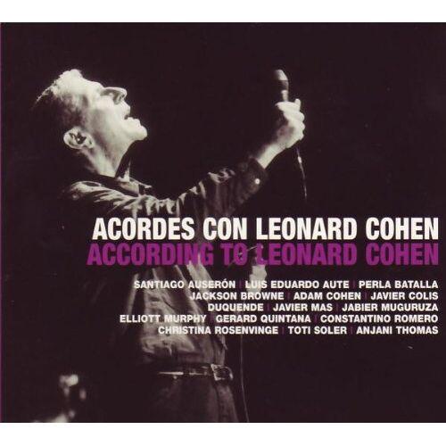 Various - Acordes Con Leonard Cohen (2 CD + DVD) - Preis vom 06.09.2020 04:54:28 h