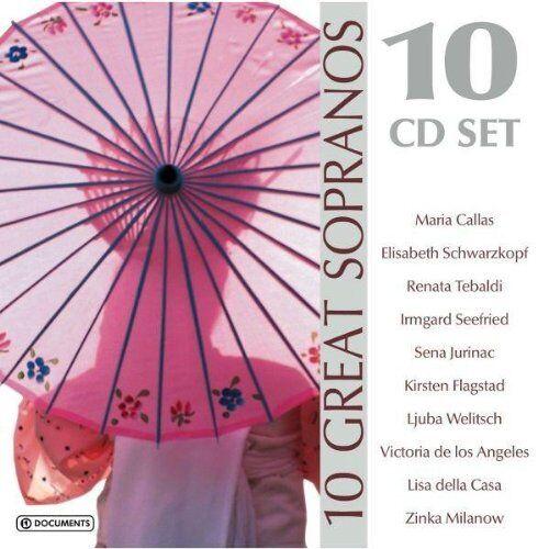 Maria Callas - 10 Great Sopranos - Preis vom 21.04.2021 04:48:01 h