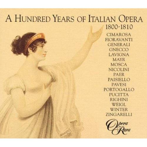 Various - A Hundred Years Of Italian Opera Vol. 1 (1800-1810) - Preis vom 25.01.2021 05:57:21 h