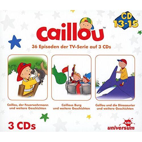 Caillou - Caillou Hörspielbox 5 (CD 13-15) - Preis vom 28.11.2020 05:57:09 h