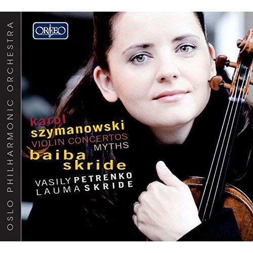 Baiba Skride - Violinkonzerte 1 und 2,Mythen - Preis vom 22.10.2020 04:52:23 h