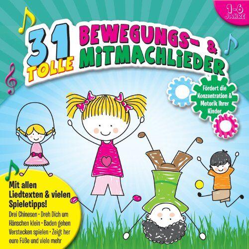 Phil, Ina & die Kita-Kinder - 31 tolle Bewegungs- und Mitmachlieder - Preis vom 14.05.2021 04:51:20 h