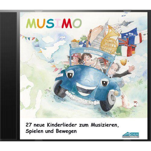 Uwe Schuh - Mein MUSIMO - Lieder-CD: Die fröhliche Liedersammlung aus MUSIMO 1 und 2 - zum Singen, Bewegen und Spielen. - Preis vom 13.04.2021 04:49:48 h