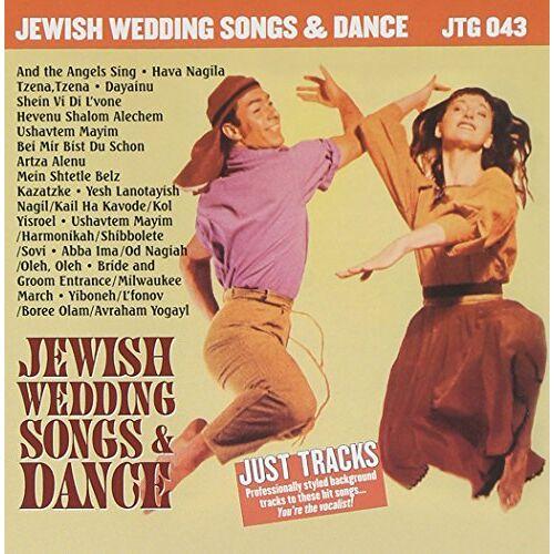 Wedding Jewish Songs - Wedding Jewish Songs & Danc - Preis vom 18.04.2021 04:52:10 h