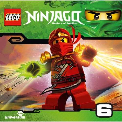 Various - Lego Ninjago: Meister des Spinjitzu (CD 6) - Preis vom 02.10.2019 05:08:32 h