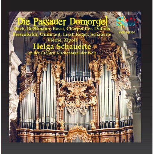 Helga Schauerte - Die Passauer Domorgel (Les plus grandes orgues d'église du monde) - Preis vom 03.12.2020 05:57:36 h