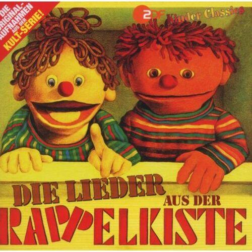 Rappelkiste - Die Lieder aus der Rappelkiste - Preis vom 25.01.2021 05:57:21 h