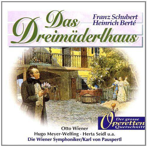 Pauspertl, Karl Von - Das Dreimäderlhaus - Preis vom 21.10.2020 04:49:09 h