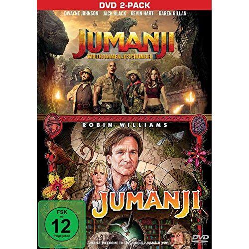 - Jumanji & Jumanji - Willkommen im Dschungel [2 DVDs] - Preis vom 27.02.2021 06:04:24 h