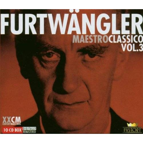 Wilhelm Furtwängler - Furtwängler - Maestro Classico Vol. 3 - Preis vom 09.05.2021 04:52:39 h